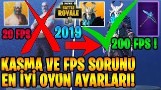 Increase FPS Settings Fortnite speed up computer! Turkish Fortnite 2019 stance a SOLUTION to the problem