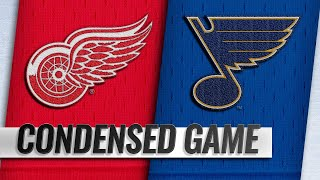 03/21/19 Condensed Game: Red Wings @ Blues