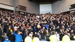 Motherwell fans Twist and Shout at Ibrox ...