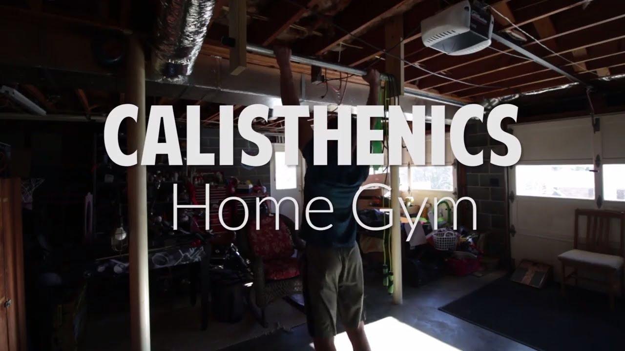 Calisthenics home gym equipment youtube