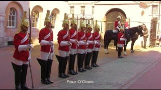 The Life Guards - Four O'clock Parade - 21 April 2015