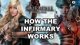Stormfall: Rise of Balur - How the Infirmary Works