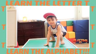 Learn The Letter T | Learn The Alphabet With Parker