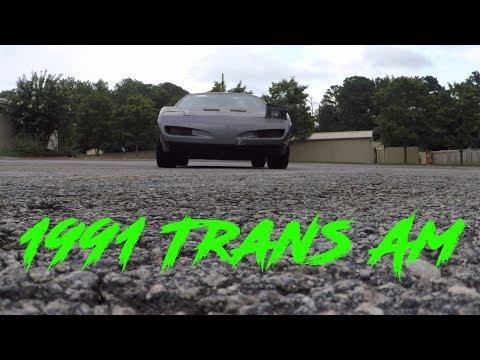 1991 Pontiac Firebird Trans Am || Radiator And Thermostat (Ep.3)