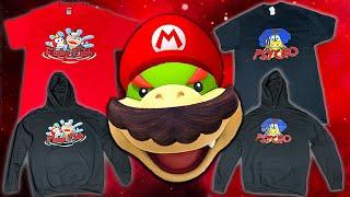Super Mario Richie Live Merch Drop!