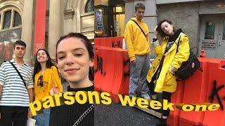 FIRST WEEK OF CLASSES AT PARSONS | Ella Snyder Vlog thumbnail