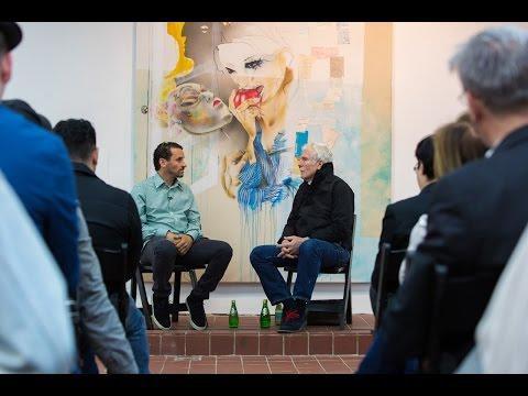 Glenn O'Brien and Lee Quinones  In Conversation 6-4-2015 Nicole Klagsbrun Gallery