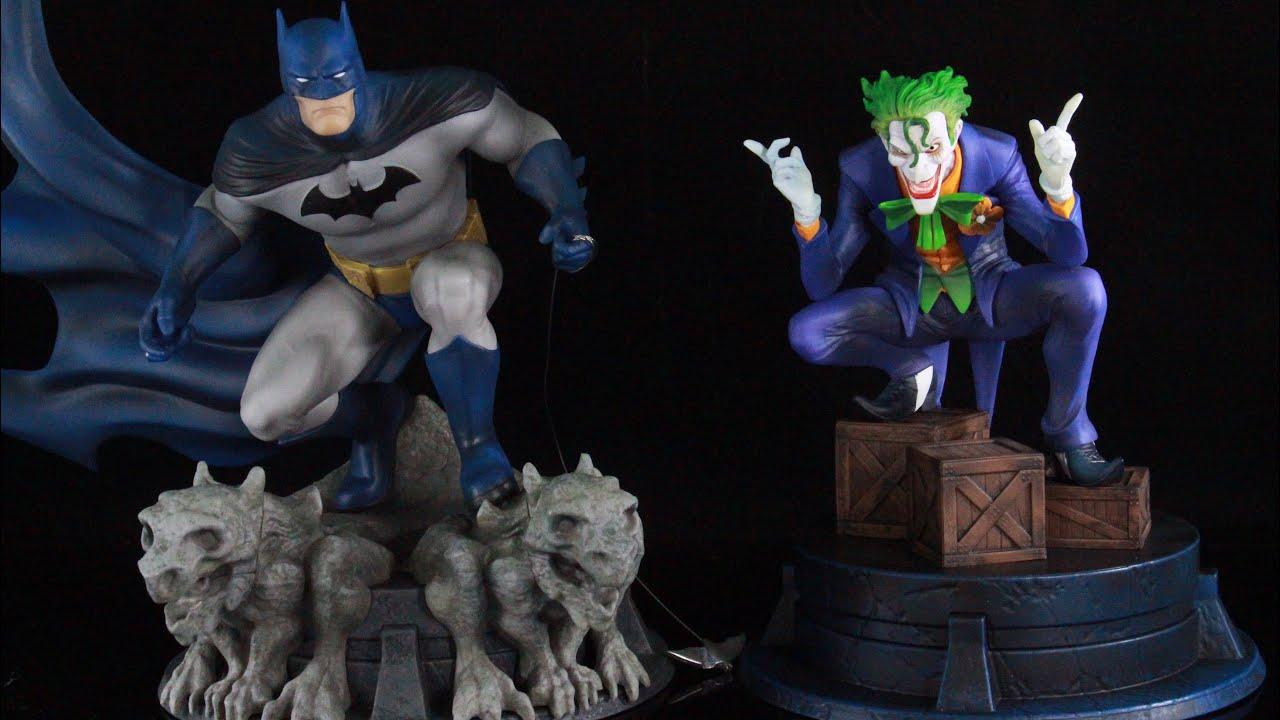 Gamestop Exclusive Batman Hush Batmanand Joker Statue Review Youtube