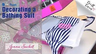 Decorating a Bathing Suit | Craft Corner