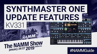 KV331 Synthmaster One Update Features | NAMM Show 2019