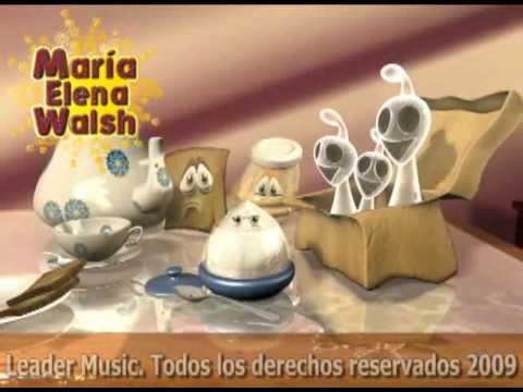 María Elena Walsh - Canción de Tomar el Té