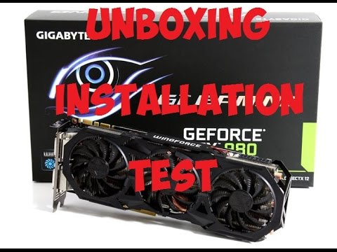[FR] Unboxing/Installation/Test Gigabyte Geforce Gtx 970 G1 Gaming 4 Go