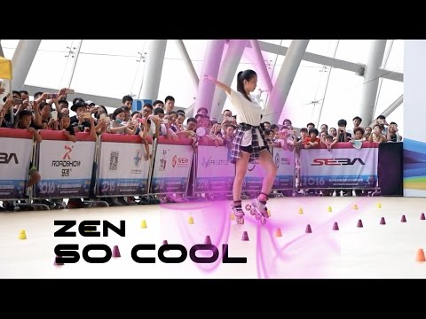 Su Fei Qian 1st - National Freestyle Skating Championships 2016