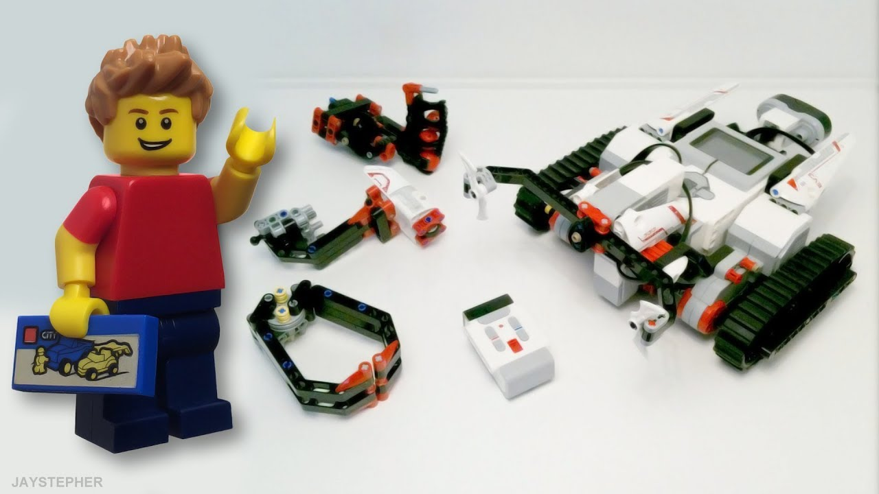 Review - Lego Mindstorms EV3: TRACK3R (31313) [CC] - YouTube