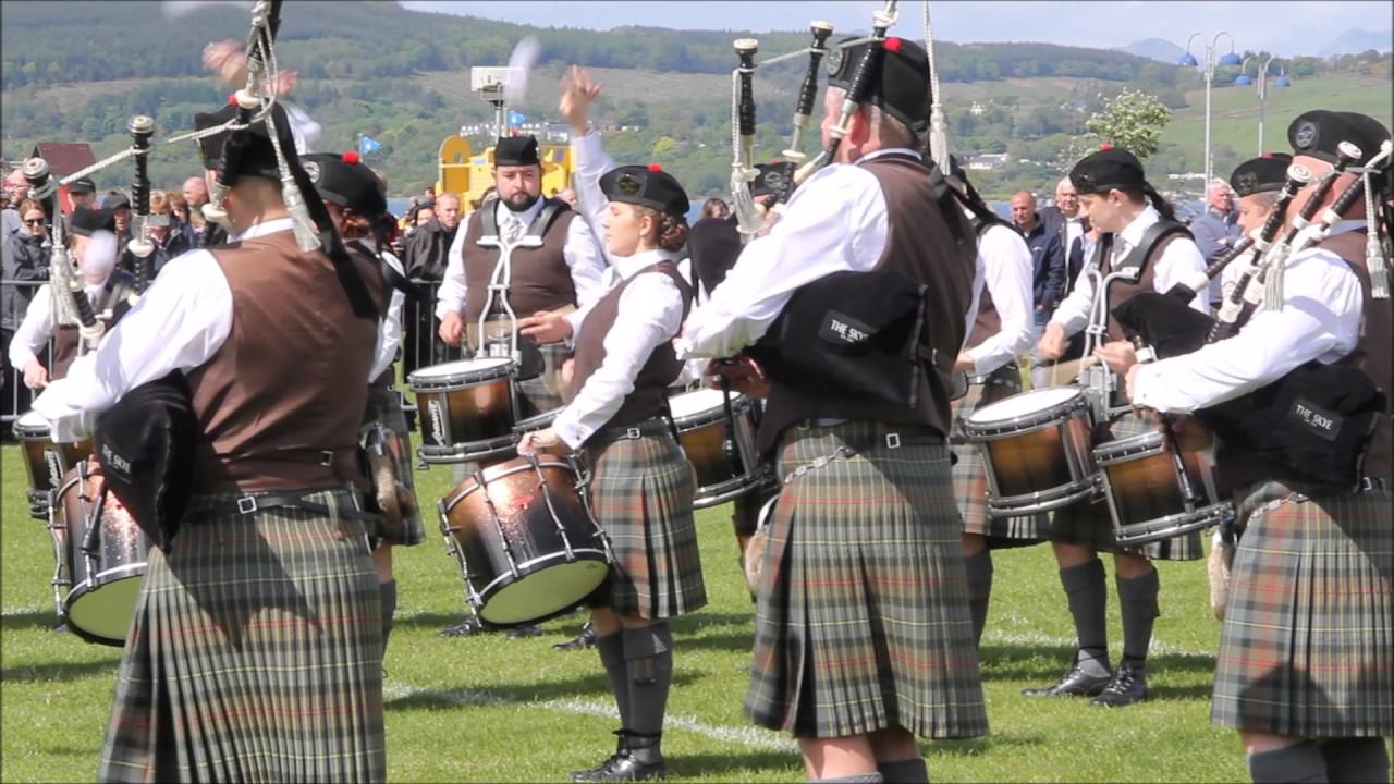 Gourock 2017 - Glasgow Skye Association Pipe Band (Grade 2 ...