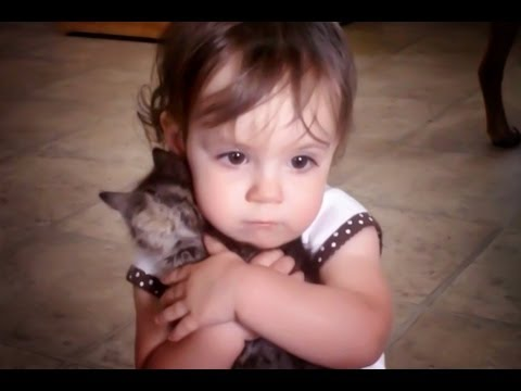 Is that your baby? (Little Girl Loves Her Kitten) (Original)