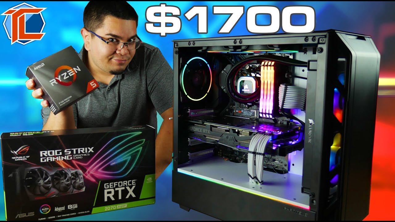 Armando una PC para mi Hermano! RTX 2070 SUPER, Ryzen 5 3600 Ensamble $1700