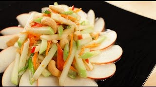 Chayote & Apple Salad Recipe ตำฟักแม้ว - Hot Thai Kitchen
