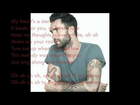 Stereo Heart Lyrics. Travie Mccoy Feat. Adam Levine