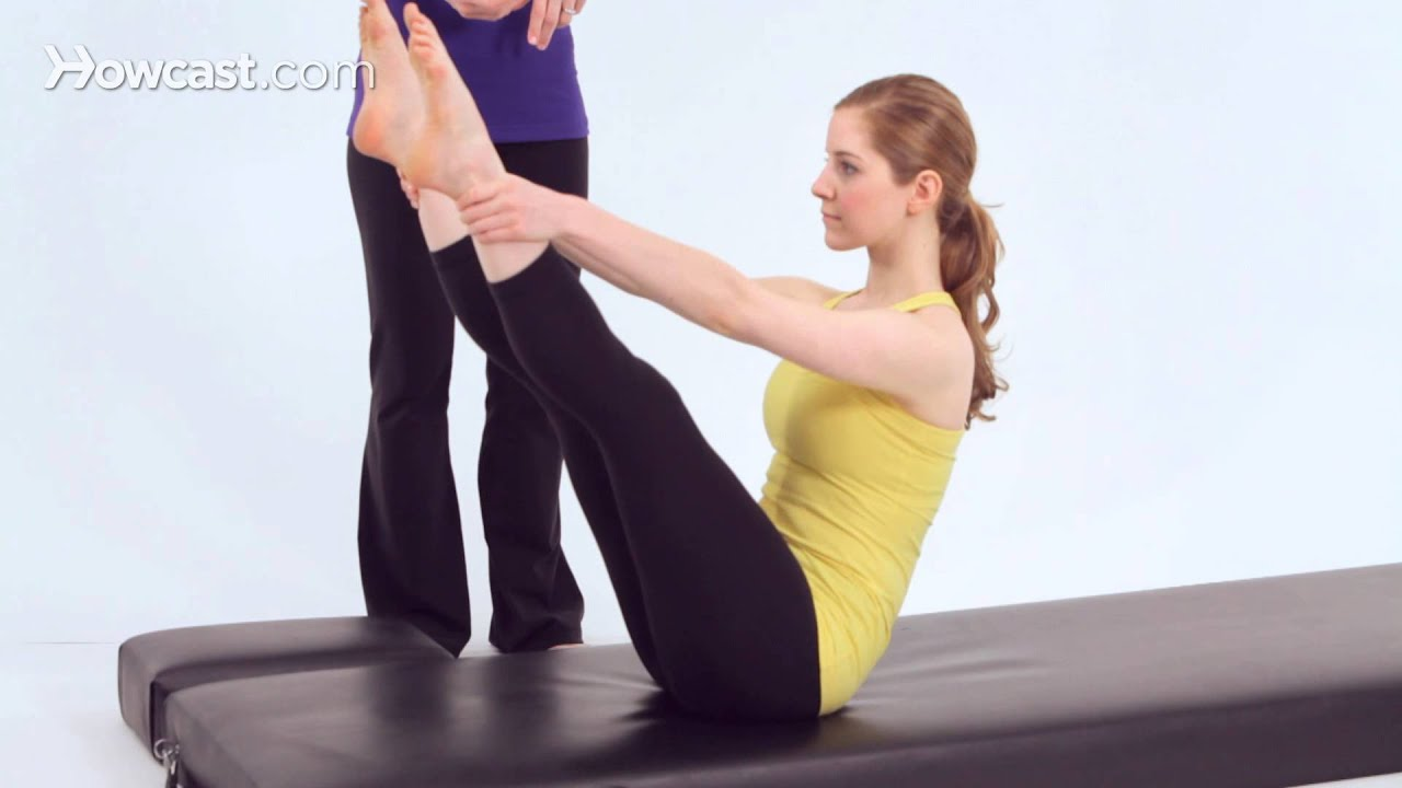 Watch Pilates Rocking Exercise video