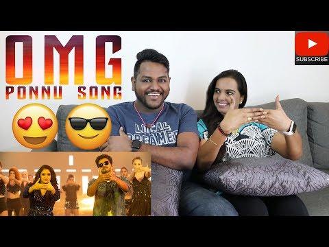 OMG Ponnu Song Reaction | Malaysian Indian Couple | Sarkar | Thalapathy Vijay | Keerthy Suresh