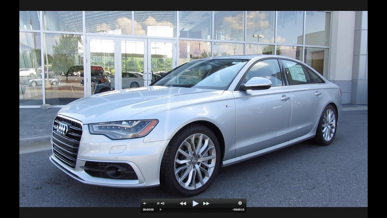 2012 audi a6 3 0t prestige start up exhaust and in depth. Black Bedroom Furniture Sets. Home Design Ideas