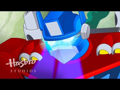 Transformers: Rescue Bots - Dinosaurio Optimus