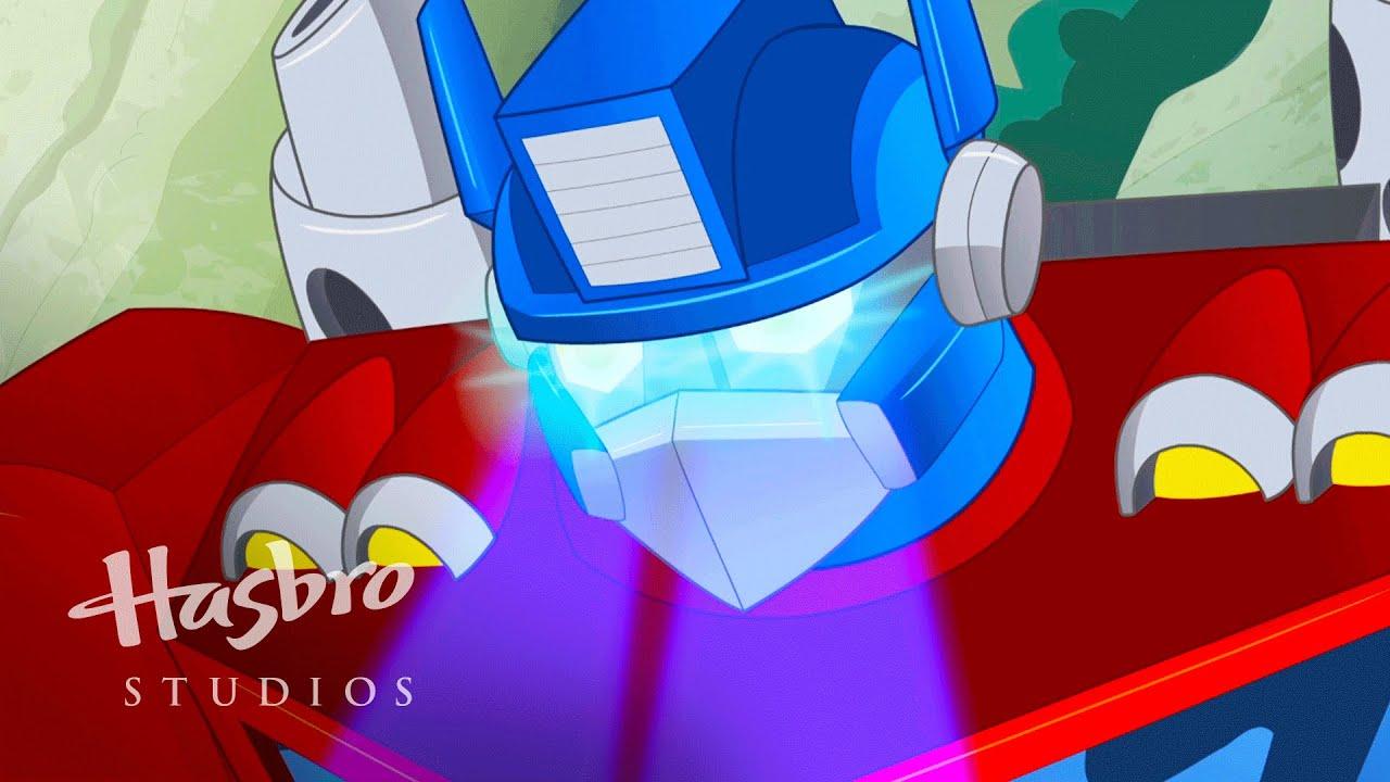 Transformers: Rescue Bots - Dinosaurio Optimus - YouTube