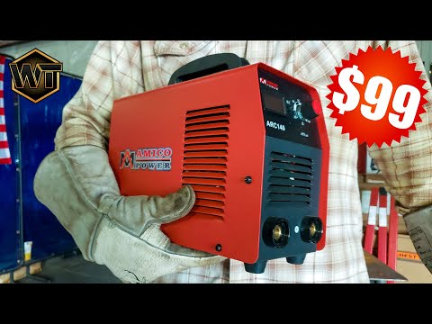 $99 WELDER - Review Of Cheapest Welding Machine On Amazon