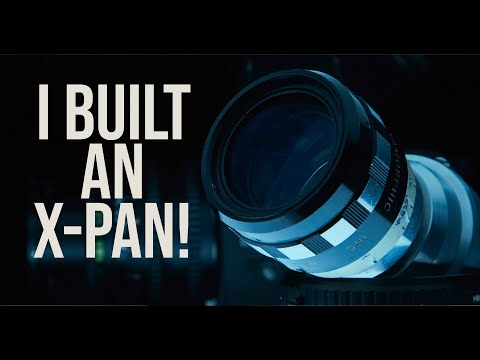 My DIY Hasselblad X-Pan: The GX-Pan