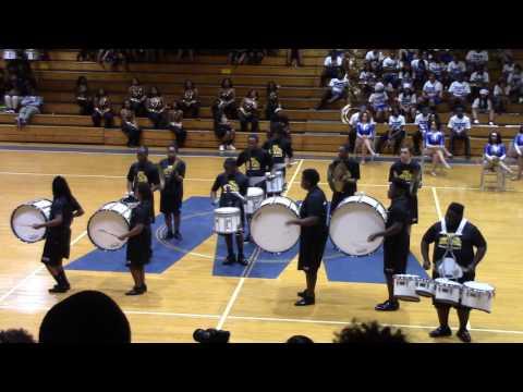 Dillon HS-Drumline(Westover Spring Jamboree 2017)