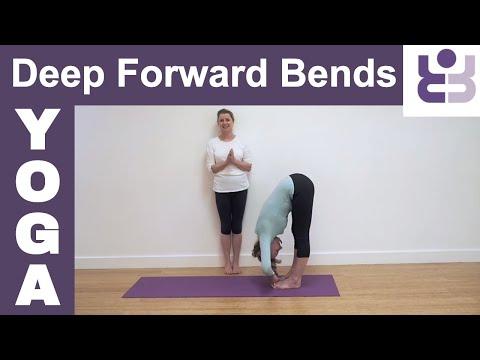 Deep Forward Bends - Padangusthasana/Padahastasana Yoga Tutorial. Iyengar Yoga.