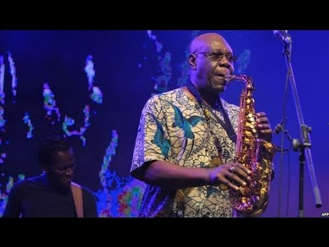 MANU DIBANGO - GIANT OF AFRICAN JAZZ INTERVIEW - BBC NEWS