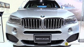 2016 BMW X5 xDrive 40e Plug in Hybrid - Exterior and Interior Walkaround - 2015 Tokyo Motor Show