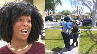 A porch pirate was caught on video in front of a home in Long Beach, and the homeowner who caught the suspect red-handed says she wanted to make sure ...