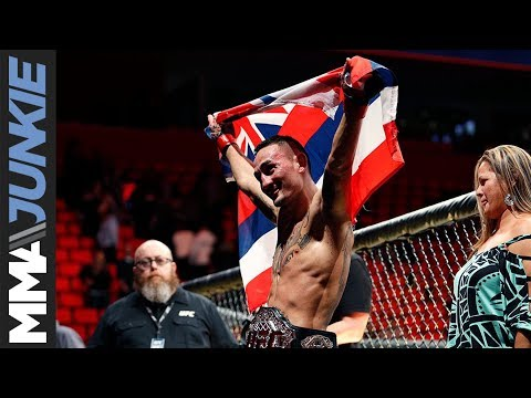 UFC 218  Max Holloway full post fight interview