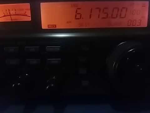 6175 kHz: China Radio International, via Cerrik ALBANIA