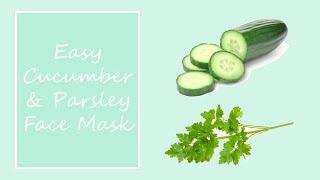 Cucumber & Parsley facial mask Thumbnail