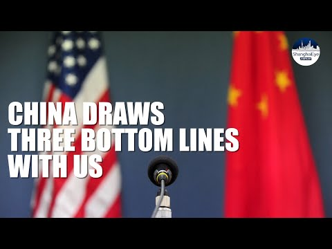 China draws three bottom lines on bilateral relations with US - Spokesperson