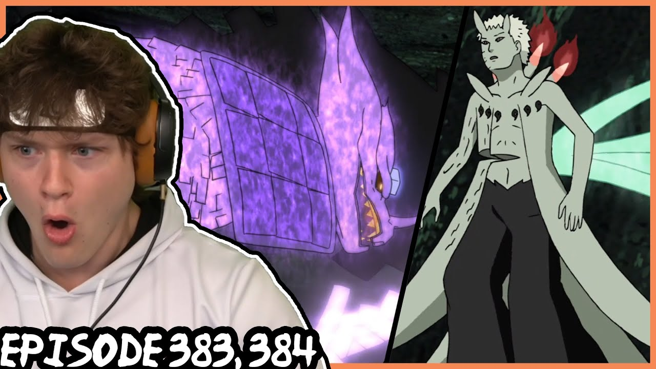 Naruto And Sasuke Vs Obito Naruto Shippuden Reaction Episode 383 384 Youtube