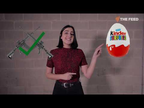 It's Easier To Get A Gun Than A Kinder Egg In The US