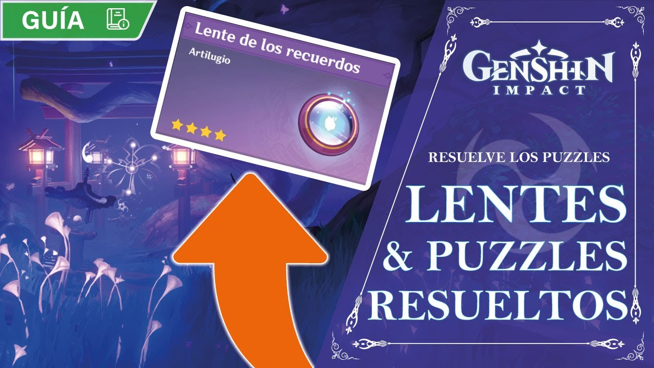 TODOS LOS PUZZLES ELECTRO + LENTES DE LOS RECUERDOS!! | Genshin Impact