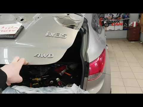 Замена штатной камеры Hyundai ix35