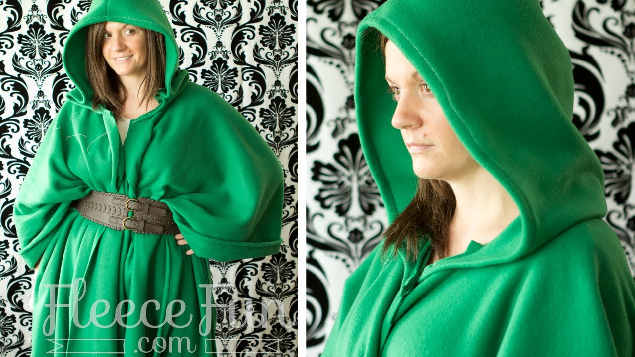 Hooded Robe Pattern Simple Decorating Ideas