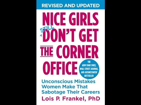 Dr Alvin Jones interviews Dr Lois Frankel about Nice Girls Still Don't Get the Corner Office
