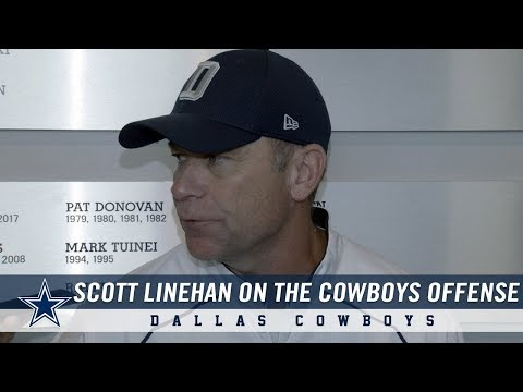 Offensive Coordinator Scott Linehan on Cole Beasley and the Passing Game | Dallas Cowboys 2018