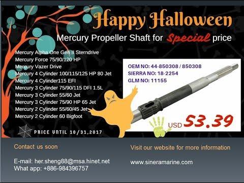 Happy Halloween - Special price on Mercury Propeller Shaft 44-850308 / 850308 /