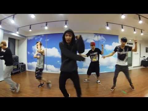 EXO 'Growl' mirrored Dance Practice (Chinese ver)
