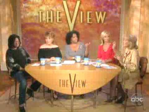 """The View"" Talks about Governor Mark Sanford Love Affair."
