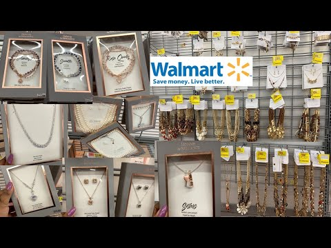 Walmart Fashion Jewelry * Clearance $5 & Under * Genuine Crystals ~ Shop With Me